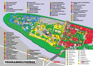 A tavalyi sziget térképe