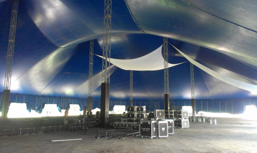A Sziget legnagyobb sátra