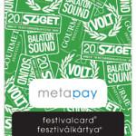 Az idei Sziget Fesztiválon is sikeres volt a Metapay Fesztiválkártya rendszere