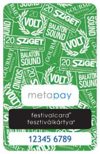 Metapay Fesztiválkártya