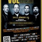 Hangolj a Volbeat-tel a Hegy're