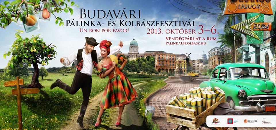 Budavári Pálinka és Kolbászfesztivál 2013