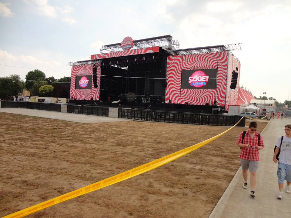 Sziget, Main stage, 2015