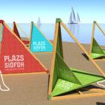 Elkészültek a jövő strandbútorainak tervei